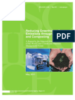 Reducing GHGs Through Recycling and Composting