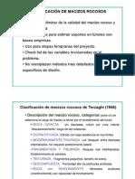 Clasificacion Del Maciso Rocoso