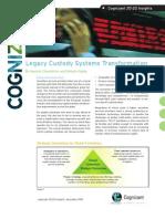 Legacy Custody Systems Transformation