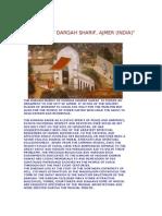 History of Dargah Sharif