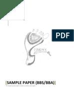 BBA Sample Paper