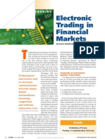 Electronic Stock Trading
