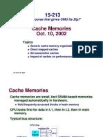 502 Cache Memories