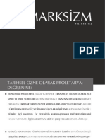 Yasayan Marksizm - Sayi 2 - Tarihsel Ozne Olarak Proletarya