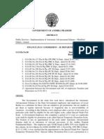 Automatic Advancement Scheme-6!12!18-24 Years G.O