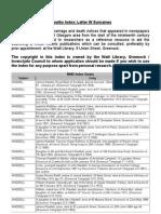 BMD Index Letter W Surnames