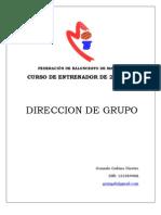 Gonzalo Gabino - Trabajo Direccion de Grupo