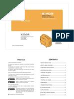 Kipor KGE2000 Operation Manual