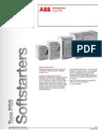 ABB Soft Starter PSS Upto300A