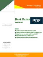 Laporan Keuangan Bank Danamon Vnie