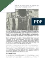 """La protesta popular del 23 de mayo de 1923 y las Universidades Populares """"González Prada"""""""