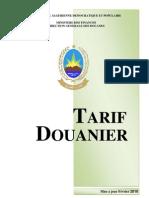 TARIF Douanier Algérien, Version Française, Mise à jour Février 2010