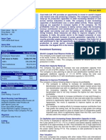 Coal India IPO Analysis