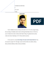 Oral F3 2011 Mahathir