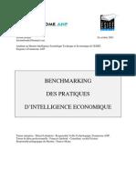 Benchmarking, pratiques d'Intelligence économique - Jérome Bondu