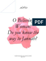 O Believing Women! Do You Know the Way to Jannah?