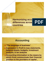 Harmonizing Accounting Differences Across the Countries