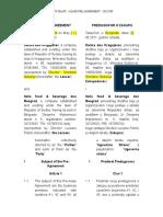 Nacrt Predugovora o Zakupu - Lease Pre - Agreement Draft(1)
