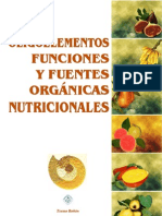 Los Oligoelementos Descripción y Fuentes Alimentarias