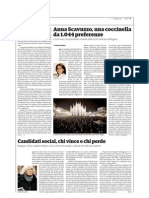 """Anna Scavuzzo, un capo-scout da 1.044 preferenze - e gli altri candidati """"social"""""""