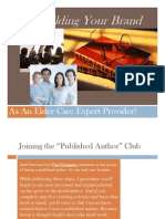 Marketing Home Care and Elder Care With Your Own Book Presentation