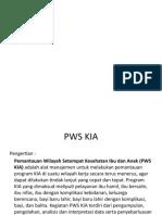PPT PWS KIA