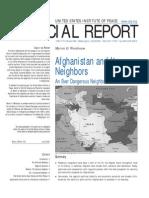 USIP Sr162 Afghanistan and Its Neighbors