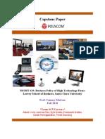 Polycom Case Analysis
