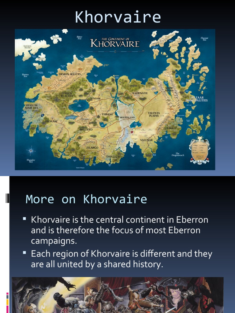 Eberron 2  The Continent Of Khorvaire
