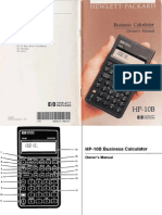 HP10B User Manual