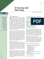 Fensterstock Albert - Credit Scoring and the Next Step