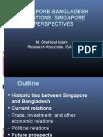 Singapore Bangladesh Relations Final