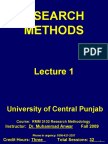 RMM Lecture 1 Introduction UCP
