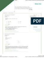 Online C Programming Test -..
