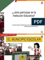 Cómo participar en la Institución Educativa PDF