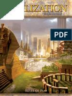 Fantasy Flight Games' Sid Meier's Civilization Rule Book