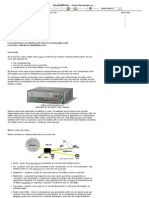 Como funcionam os switches LAN (rede de comunicação local)