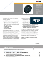 Polar F1 HRM Manual