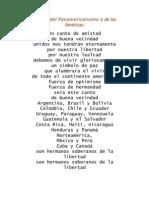 Himno Del Panamericanismo