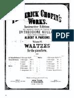 Fchopin Waltzes Op34