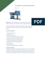 Sistema de Entrenamiento en Diagnostico de Fallas en Sistemas Hidraulicos