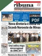 JORNAL TRIBUNA - EDIÇÃO 285 -  MAIO DE 2011 - UNAÍ-MG