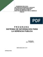Programas SI Mayo 2011