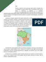 Complexos Regionais Do Brasil