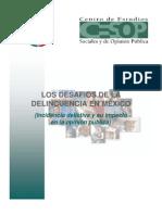 Los Desafios de La Delincuencia en Mexico