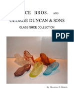 Bryce Bros. and George Duncan & Sons Glass Shoe Collection