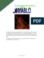 Manual de Programacion en Batch by Dhyablo