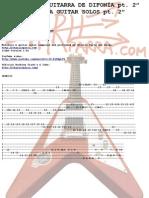 Difonia Guitar Solos Pt2 Tablature