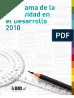 Panorama de la efectividad en el desarrollo 2010