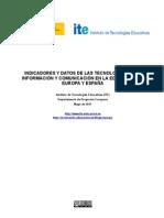 Indicadores y Datos TIC 0910